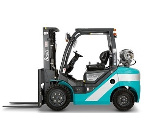Plynové LPG čelní vysokozdvižné vozíky Baoli