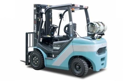 čelní LPG vysokozdvižné vozíky Baoli KBG