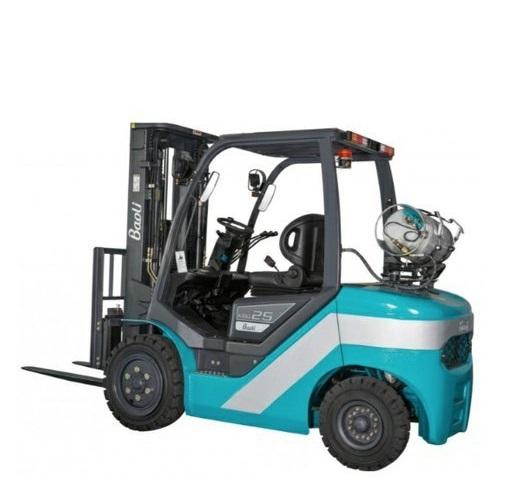 BAOLI - plynový LPG čelní vysokozdvižný vozík VZV typ KBG25+