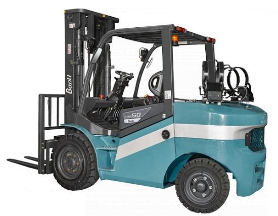 Plynové LPG čelní vysokozdvižné vozíky KBG 40-50