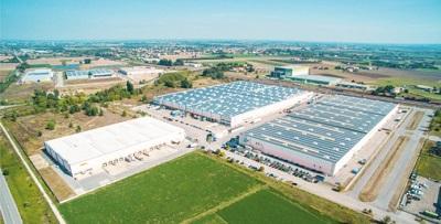 centrála Baoli - skladové a distribuční centrum v Itálii pro region EMEA