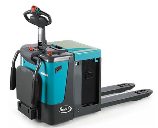 Elektrický paletový vozík s plošinou EP25-N01